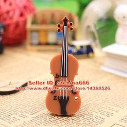 Wholesale Musical Pen - Violin Viola USB Stick 8GB 4GB 16GB Musical Instruments USB 2.0 Memory Stick Flash pen Drive