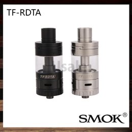 Wholesale S2 Original - Smok TF-RDTA Tank 5ml TF RDTA Atomizer S2 Deck Dual-Post Velocity Style No Leaking Juice Flow Control System 100% Original