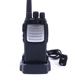 Wholesale Radio 7w - Walkie Talkie KST K9 UHF radio comunicador 400-470MHz 48CH 7W VOX TOT Cable Clone Two Way Radio