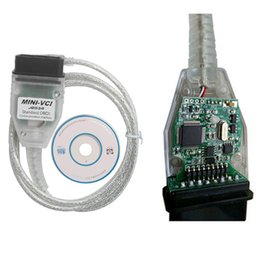 Wholesale Toyota Diagnostic Connector Techstream - Latest version V10.30.029 MINI VCI Interface FOR TOYOTA TIS Techstream minivci FT232RL Chip J2534 OBDII OBD2 diagnostic tool