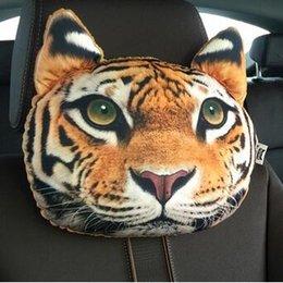Wholesale Cartoon Headrest - 30*22cm Creative Cartoon cat Car Seat Neck Rest Cushion Headrest car Pillow PP cotton core and Active carbon bag HJIA896