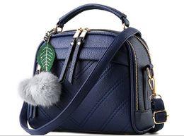 Wholesale Grey Market - 2016 Fashion Women Shoulder Bag Plain Pattern Crossbody Bag Pu Leather Handbag Colors For European Market