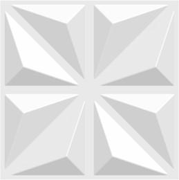 Insonorisé Haute Qualité 3D PVC Panneau Mural Pour Chambre Imperméable À L'eau Europe Art Wall Sticker pour Fond 3d En Relief Solide Papier Peint 50 * 50 cm ? partir de fabricateur