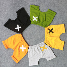 Wholesale 3t Yellow Leggings - 5 Color kids INS PP pants baby toddlers boy girl ins pants shorts Leggings baby Short Shorts Free Shipping