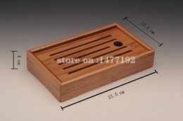 Wholesale Teapot Cup Sets - Wholesale-HOT! STARS bamboo tea tray kung fu tea tools for cup and teapot crafts tray solid bamboo tea sets free shipping
