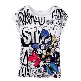 Wholesale Black Slim Shirt Korean Women - 2017 women 3D Printed tops summer harajuku ZSIIBO t-shirts bts kawaii t shirt plus size korean style t shirts cute White Slim NVTX06-F