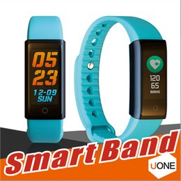 Wholesale Led Heart Bracelets - X6S Smart Bracelet Band Dynamic Heart Rate Monitor Colorful LED Screen Smartwatch Health Sport Activity Tracker Call Alerts Wristband