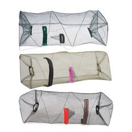 Wholesale Trapping Net - Nylon Mesh Fishing Net Fishnet Bait Trap Cast Dip Net Cage Crab Fish Crawd Shrimp Crayfish Crabs Minnow Fishing Nets Pesca