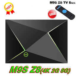Wholesale Video Streamer - M9S Z8 Android Box Fully Loaded Unlocked S905X 2GB Bluetooth 8GB Smart Streamer Android 6.0 OS BT 2.4 5GHz Wifi 4K Movie video Media Player