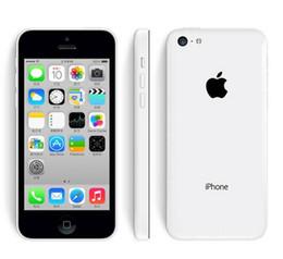 "Wholesale Mobile Pink 3g - Original iPhone 5C Mobile Phone Dual Core 4"" 8MP WIFI GPS 3G iPhone 5C Unlocked Smartphone Cellphone"