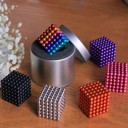 Wholesale Neo Magnets - Magic Puzzles 5mm 216 pcs Neo Cube Metaballs Magnetic Ball Magnet Toys Gift with retail packing dhl free