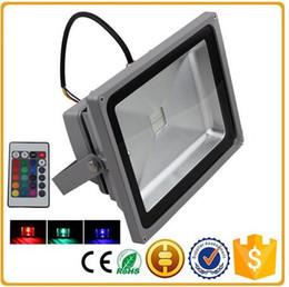 Wholesale led ip65 dmx - RGB led floodlights IP65 waterproof dmx outdoor led landscape lighting 10w 20w 30w 50w 100w 150w 200w floodlight AC85-265V