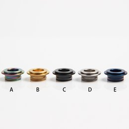 Wholesale Drip Tips Connector - 810 to 510 Adapter Drip Tip Heat Sink for E Cig TFV8 TFV8 Big Baby Tank Atomizer Drip Tip Connector