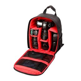 Wholesale Slr Pouch - S5Q Quality Leisure Anti-Theft Waterproof Outdoor Camera Backpack SLR Camera Bag AAAGEE