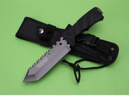 Wholesale Fixed Gear Free Shipping - EXTREMA RATIO 31999 tactical straight knife 8CR13MOV Blade 57HRC Handle camping outdoor gear EDC tools knife free shipping