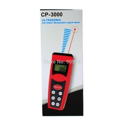 Wholesale Ems Mini Laser - Newest Ultrasonic Distance Meter 18m Laser Rangefinder With Laser Pointer Pocket Mini Range Finder Measure Tools 10pcs EMS
