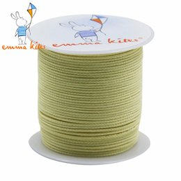 Wholesale Nylon Kites Wholesale - Wholesale- Emmakites 100ft  30m 150LB High Quality Braided Kevlar Line Fiber Large Kite Line String Outdoor Fishing Camping Garden Cord