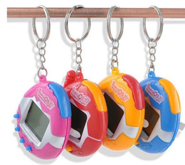 Wholesale Kids Pets Toys - New Retro Game Toys Pets In One Funny Toys Vintage Virtual Pet Cyber Toy Tamagotchi Digital Pet Child Game Kids with Nostalgic Keychain