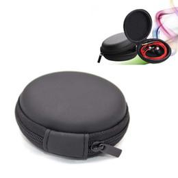 Sacchetto del trasduttore auricolare online-Custodia per trasporto di EVA Custodia per borsa Custodia per portatile Custodia per cavo USB stereo Bluetooth auricolare OTH086