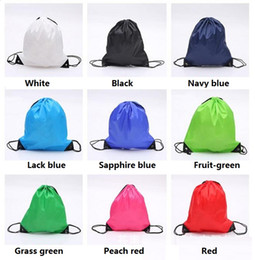 Wholesale Hot Marketing - Hot Drawstring Non-woven fabric Tote bags waterproof Backpack folding bags Marketing Promotion drawstring shoulder bag Storage Bags 2875