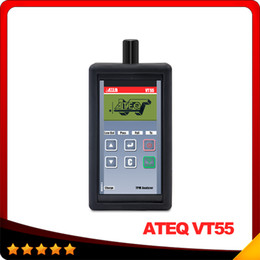 Wholesale Honda Sensors - 2016 Top selling ATEQ VT55 OBDII TPMS Diagnostic Tool Activate and Decode TPMS Sensors and Display Data or Faults DHL free shipping