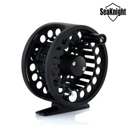 Wholesale Large Fishing Wheel - Available !!! CNC Fly Fishing Reels Large Arbor Aluminum 7 8 Fly Fish Feeder Coil WHEEL Saltwater Lake 3BB 0.50mm 200M 55mm