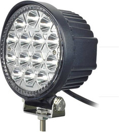 Wholesale Super 4x4 Off Road Lights - Super Bright Round Led Work Light High Power 42W Epistar LED Working Light Off-Road SUV ATV 4WD 4x4 Flood Beam 10-30V IP68
