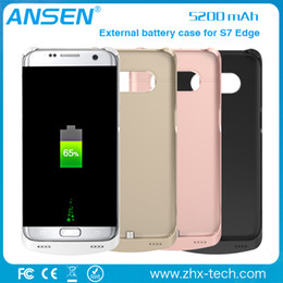 Wholesale wholesale slimming products - extended power battery case cover backup power bank slim charging case for samsung S7 edge in stock 2016 new products