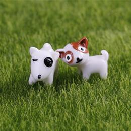 Argentina Envío gratis nuevo y lindo mini perros 2 diseños de hadas miniaturas de jardín gnomos musgo terrarios arte de resina para el hogar accesorios de decoración bricolaje Suministro