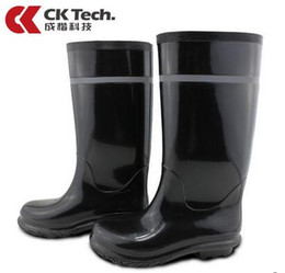 Wholesale Pvc Industries - Labor insurance boots PVC high safety boots waterproof anti-skid stab protective protective footwear industry