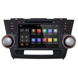 Wholesale Gps Dash Navigation - Joyous 1024*600 Quad Core Android 5.1 for TOYOTA HIGHLANDER Kluger 2008 2009 2010 2011 Car DVD PlayerGPS Navigation Radio Headunit