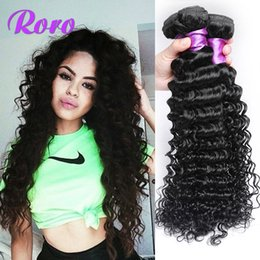 "Wholesale Mongolian Deep Curly Hair 5a - Trade 5A ! Brazilian Hair Extension Deep Wave Curly 8""-28""DHL Free Shipping 100% human hair weave double hair weft, brazilian virgin hair"