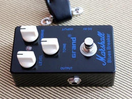Wholesale Wholesale Guitar Pedals - Free Shipping custom 2017 high quality new Marshall Blues Breaker overdrive distortion guitar effect pedal Musical Instruments Free Shipping