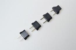 Wholesale Hot Electrical Plug - Hot 2016 Fast Shipping USA US To EU Plug Adapter Travel Charger Adaptador Converter Universal AC Power Electrical Plug Socket