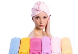 Wholesale Super Magic Towel - Free EMS Microfiber Magic Hair Dry Drying Turban Wrap Towel Long-haired Ultrafine Super Absorbent Fiber Hat Dry Hair Towel L470