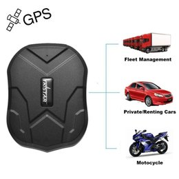 Wholesale car vehicle tracker - TK905 Personal Vehicle GPS Tracker For Car With 5000mAh Li Battery 850 900 1800 1900MHz 30days Long Standby GPS GSM GPRS GPS Locator