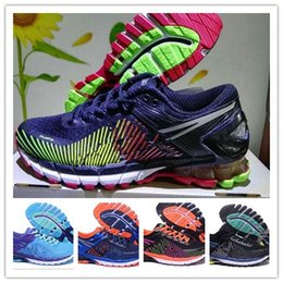 Wholesale Casual Nude Color Shoes - hot sale 2017 top quality GEL Kinsei 5 Men women Casual Shoes New Color Jogging Sneakers Athletic Shoes kinsel 4 6 kayano 20 Size 36-45