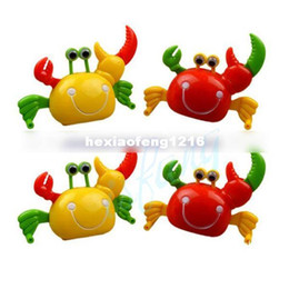 Wholesale Kids Animal Toys Move - Hot Sale Clockwork Toys Chain Wind-up Will Walk Across The Eyes Will Move A Crab Baby Kids Toys FREE SHIPPING