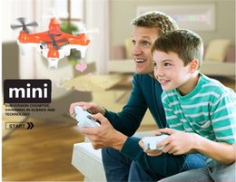 Wholesale Kids Mini Helicopters - Mini RC Drones with 0.3MP HD Camera 2.4GHz rc Quadcopter with 6 Axis Gyro Kids Helicopter toys
