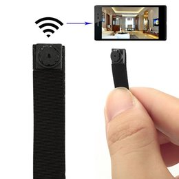 Wholesale Hidden Camera Phones - Mini Super Small Portable Hidden Spy Camera P2P Wireless WiFi Digital Video Recorder for IOS iPhone Android Phone APP Remote View
