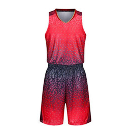 Wholesale Diy Train Set - 2017 College Basketball Training Suits Cheap Custom Uniforms Men 3D Printed Basketball Sets DIY Basketball Jerseys new