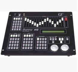 Wholesale Dj Usb Controller - Free shipping LED moving head light DMX512 Console DJ Lighting USB bar light MX Sunny 512 dj mixer controller Controller