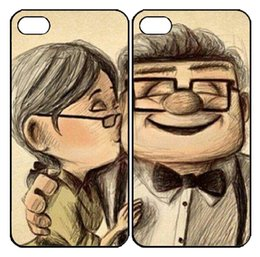 Wholesale S2 Case Ups - Wholesale-Romantic Up CARL and ELLIE couple cases for iPhone 4s 5s 5c 6 6s Plus iPod touch 4 5 6 Samsung s2 s3 s4 s5 mini s6 Note 2 3 4 5