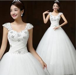 Barato simples vestido de Noiva de noiva Encantador Bateau princesa Vestidos De Noiva Vestidos de Noiva com Sash Bow Sweep Train Custom Made BD06 de Fornecedores de vestido preto vermelho de dois tons