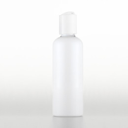 Wholesale Travel Size Lotion Bottle - 50pcs 100ml Empty Plastic Lotion white Bottles white Disc Top Cap Liquid Soap Travel Size DIY SPA Container Shampoo
