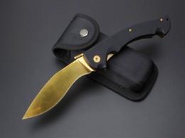 Cuchillos grandes de acero al aire libre online-201609 Cold Steel Big RAJAH D2 Blade G10 Mango Plegable EDC Cuchillo de Bolsillo Que Acampa Táctico Supervivencia Al Aire Libre Cuchillo F669L