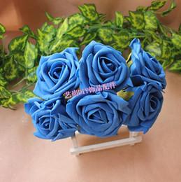 Wholesale Floral Table Decorations - 7.5CM,MixColors Floral Foam Artificial EVA Large Roses,Romantic Wedding Bridal Bouquet,Dining Table Decoration And Accessories