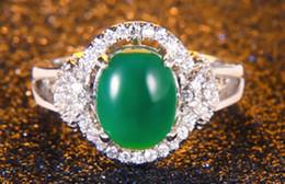 Wholesale Roma Ring - wholesale necklace torque pendant Solitaire ring S925 nature calcedony jade agate DE lady new arrive IT Roma Dimond women Paris EUR
