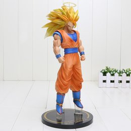 Wholesale Figuarts Zero - Japanese Anime banpresto Dragon Ball Z figure brinquedos Super Saiyan 3 Son Goku Figuarts Zero action Figure moedel Toys