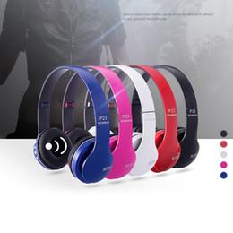 memory cards factory Australia - Headband Wireless Bluetooth Headset Memory Card Radio Smart Answer Phone Music Stereo Headsets Computer Factory Direct